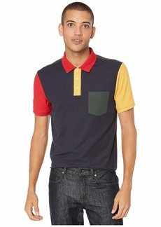 Original Penguin Short Sleeve Color Block Polo