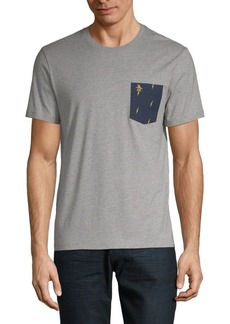 Original Penguin Short-Sleeve Cotton Pocket Tee