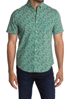 Original Penguin Short Sleeve Ditsy Floral Print Shirt
