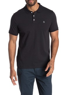 Original Penguin Short Sleeve Dobby Print Polo