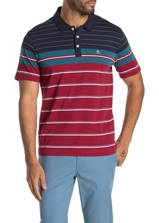 Original Penguin Short Sleeve Engineered Block Polo