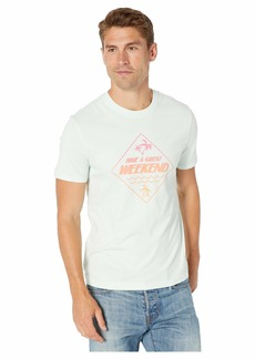 Original Penguin Short Sleeve Have A Great Weekend T-Shirt