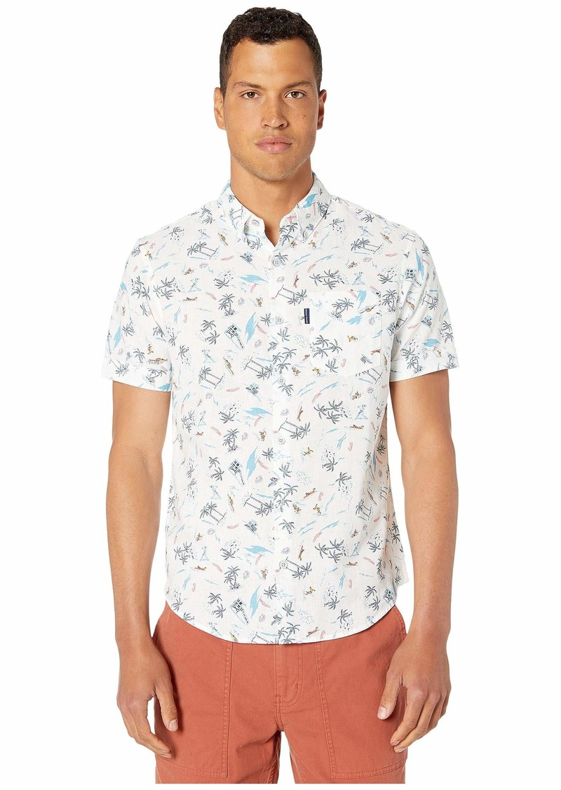 Original Penguin Short Sleeve Hawaiian Vacation Shirt