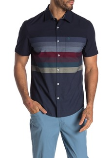 Original Penguin Short Sleeve Horizontal Engine Shirt