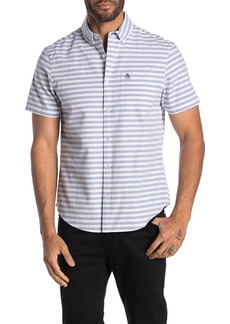 Original Penguin Short Sleeve Horizontal Stripe Shirt