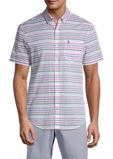 Original Penguin Short-Sleeve Horizontal Stripe Shirt