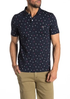 Original Penguin Short Sleeve Ice Cream Print Polo