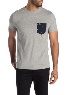 Original Penguin Short Sleeve Lightening Pocket T-Shirt