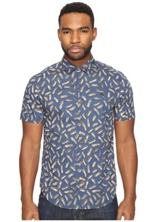 Original Penguin Short Sleeve Peanut Printed Pullover