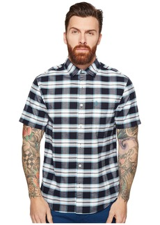 Original Penguin Short Sleeve Plaid Oxford