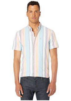 Original Penguin Short Sleeve Roadmap Stripe Shirt