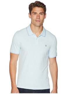 Original Penguin Short Sleeve Space Dye Tip Polo