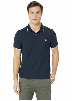 Original Penguin Short Sleeve Sticker Pete Pique Polo