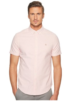 Original Penguin Short Sleeve Stretch Oxford Shirt