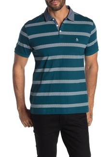 Original Penguin Short Sleeve Striped Polo
