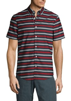 Original Penguin Short-Sleeve Striped Shirt