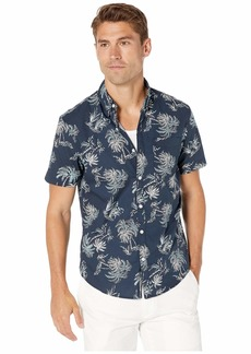 Original Penguin Short Sleeve Tropical Tree Shirt