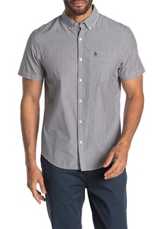 Original Penguin Short Sleeve Vertical Stripe Shirt