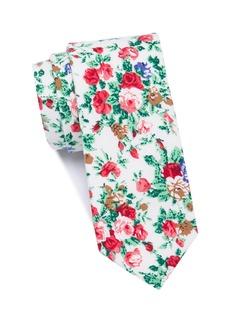 Original Penguin Sicari Floral Skinny Tie