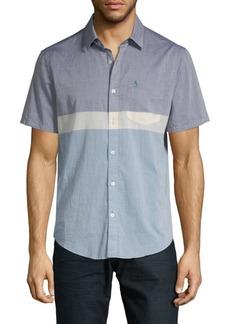 Original Penguin Slim-Fit Button-Down Shirt