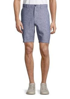 Original Penguin Slim-Fit Linen-Blend Shorts