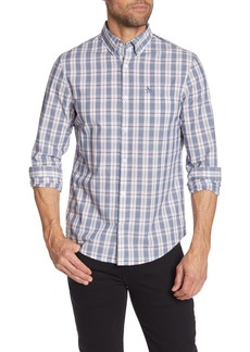 Original Penguin Slim Fit Plaid Woven Top
