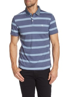 Original Penguin Slim Fit Printed Jersey Striped Polo