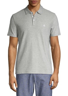 Original Penguin Slim-Fit Textured-Front Polo