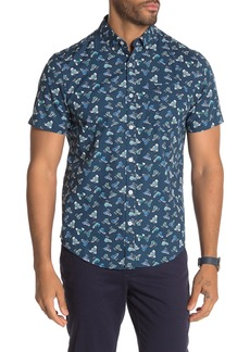 Original Penguin Sneaker Print Short Sleeve Shirt