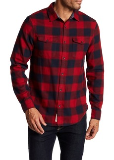 Original Penguin Spread Collared Flannel Shirt