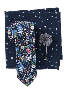 Original Penguin Stockle Floral Tie 3-Piece Set