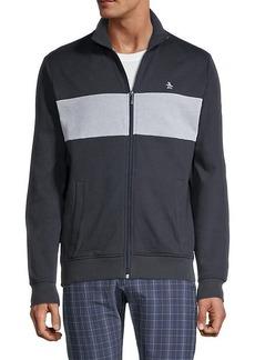 Original Penguin Striped Cotton-Blend Jacket