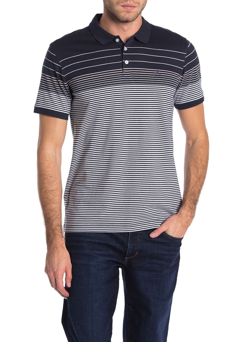 Original Penguin Striped Knit Polo