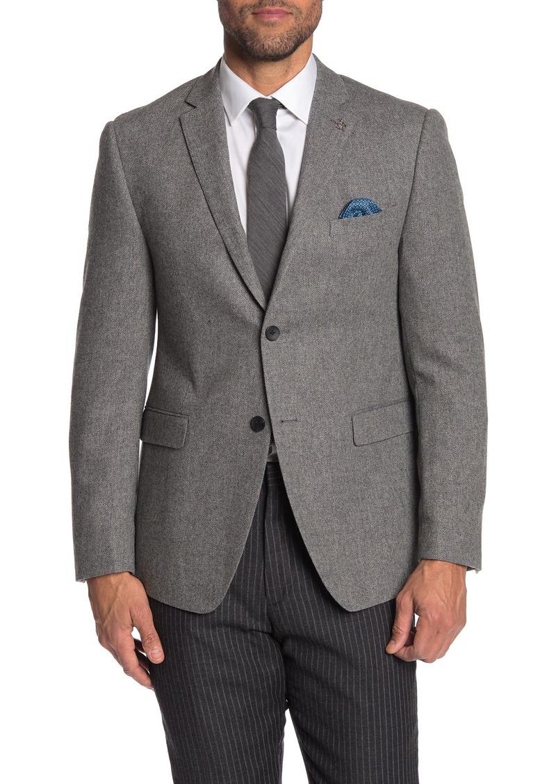 Original Penguin Herringbone Striped Two Button Suit Separate Sport Coat