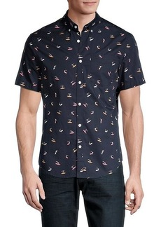 Original Penguin Surf-Print Shirt