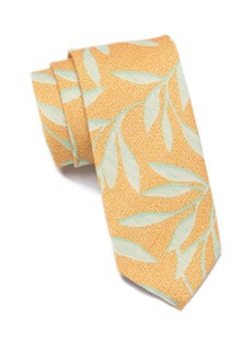 Original Penguin Tantin Botanical Skinny Tie