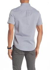 Original Penguin Textured Geo Short Sleeve Heritage Slim Fit Shirt