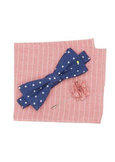 Original Penguin Theodore Stars Bow Tie 3-Piece Set