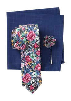 Original Penguin Tibbit Floral Tie 3-Piece Set
