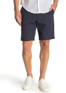 Original Penguin Triangle Print Dobby Slim Fit Shorts