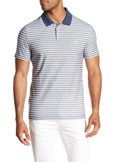 Original Penguin Twill Striped Polo