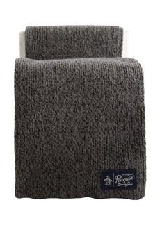 Original Penguin Two Tone Knit Scarf