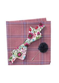 Original Penguin Wild Floral Bow Tie 3-Piece Set