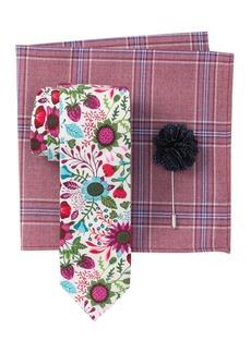 Original Penguin Wild Floral Tie 3-Piece Set