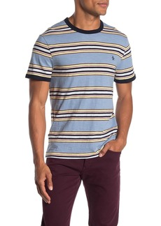 Original Penguin Yard Dye Slub Stripe T-Shirt