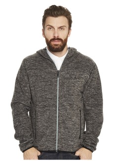 Original Penguin Zip Front Heathered Fleece Jacket