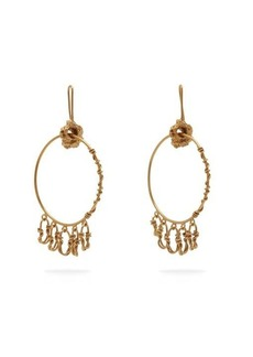 Orit Elhanati Monika gold-plated hoop earrings