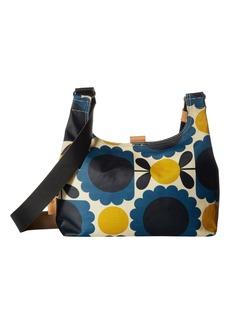 Orla Kiely Matt Laminated Scallop Flower Spot Mini Sling Bag