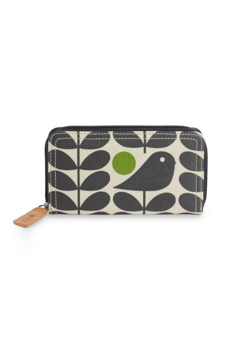 ORLA KIELY Early Bird Zipper Wallet