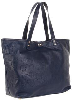 Orla Kiely Giant Punched Acorn Leather Tillie Bag